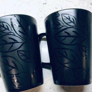 A set of 2 Starbucks mugs